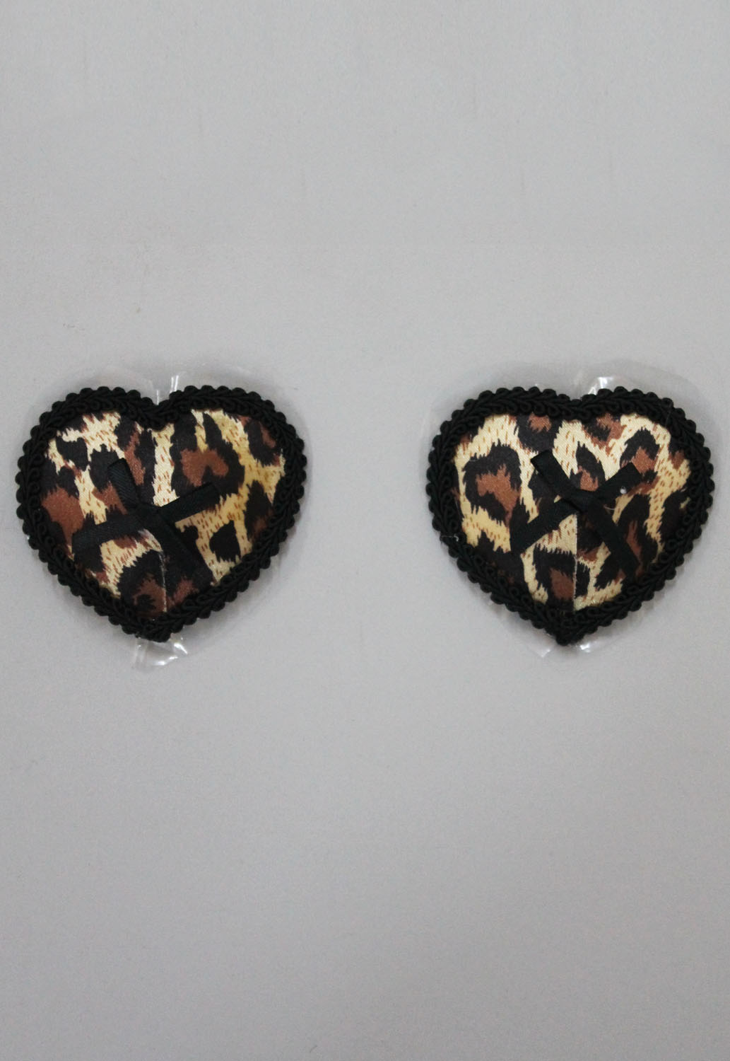 1 Pair leopard lace pasties