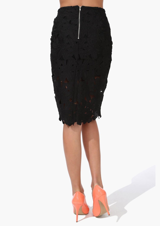 Черная юбка карандаш с доставкой