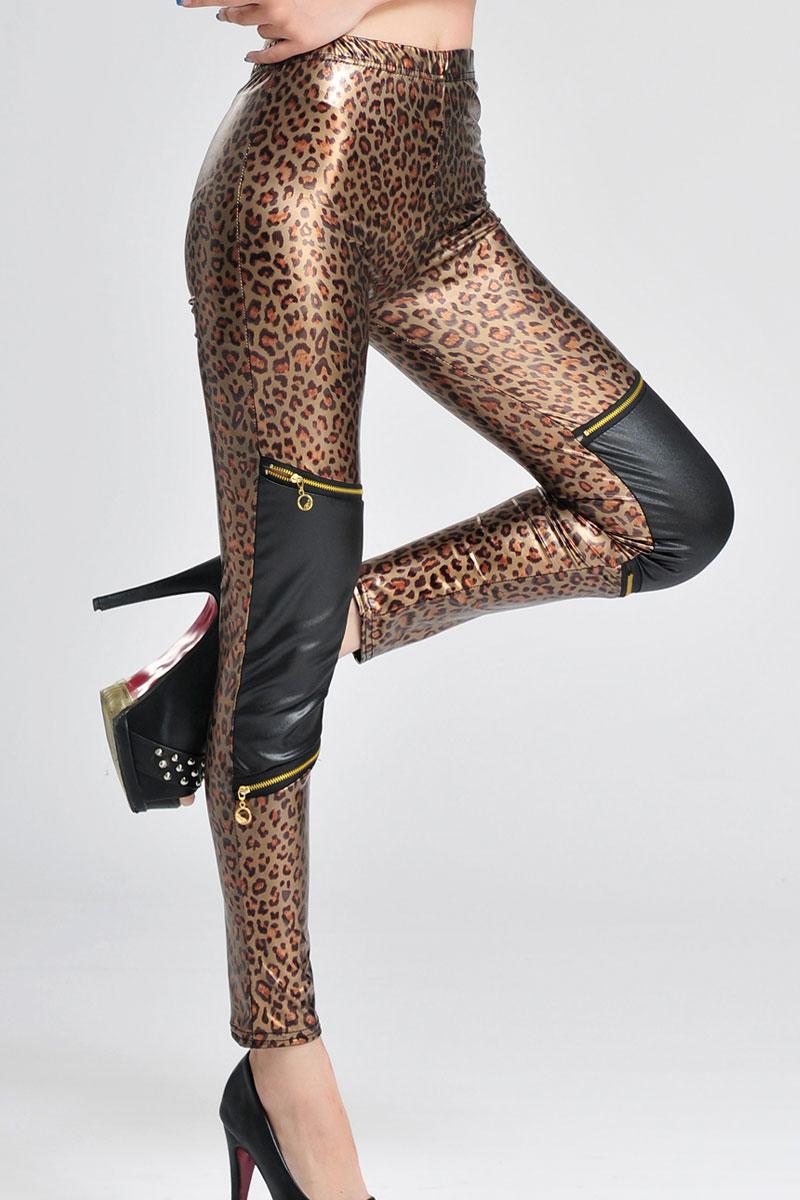 Брюки леопардовые доставка
