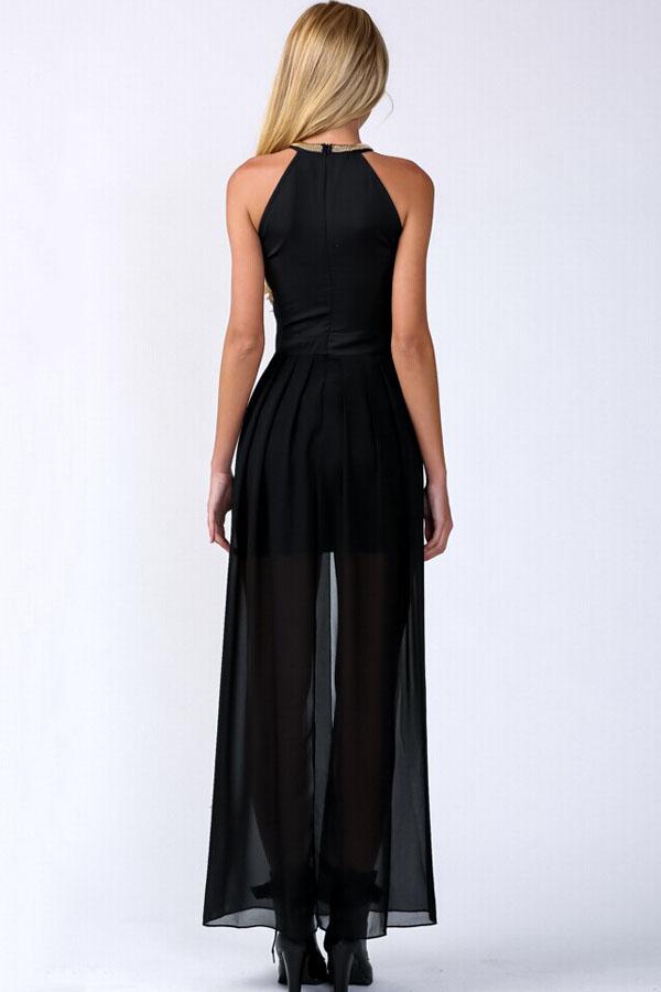 Платье с прозрачной юбкой доставка