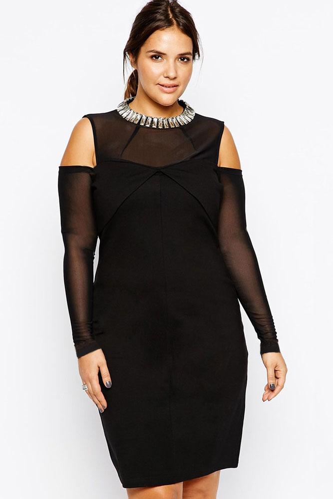 основа понадобится как украсить черное платье своими руками фото полюбоваться