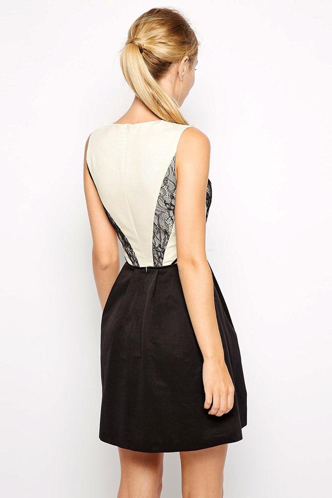 Черные платья с кружевом с доставкой