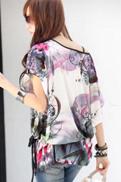 Блузка с поясом с доставкой