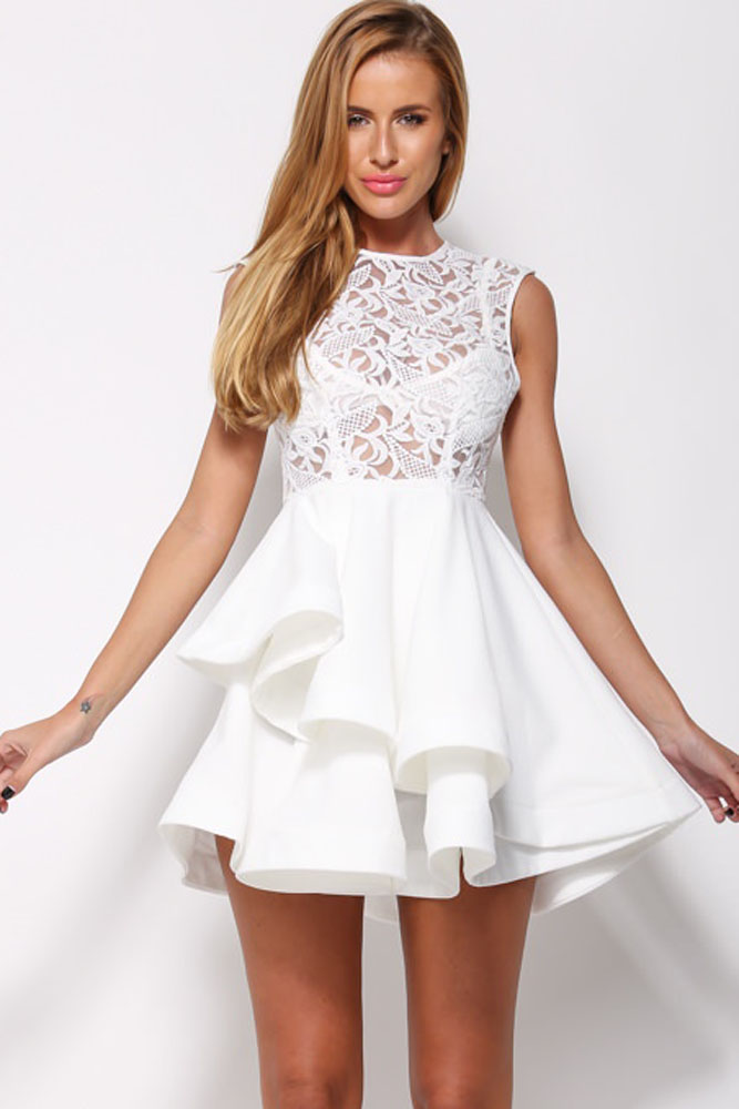 Платье с блузкой