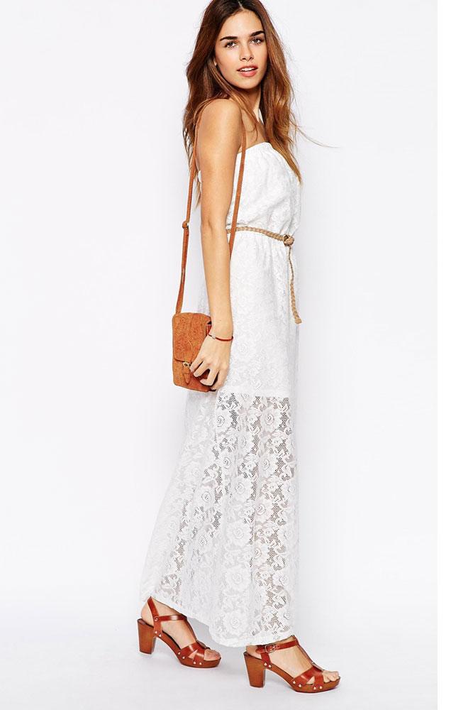 Кружевное платье или сарафан