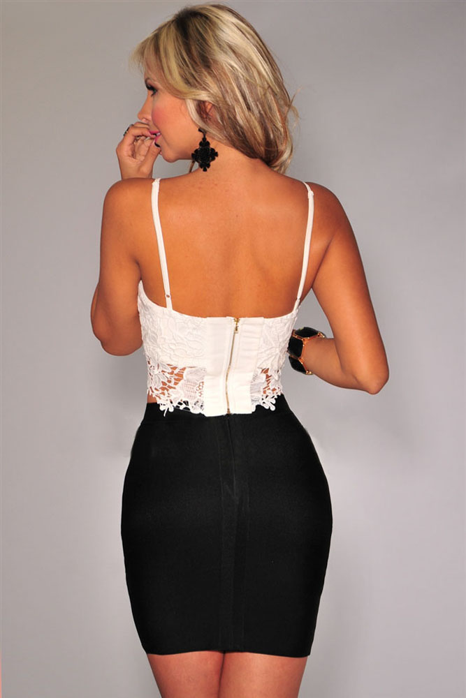Белые Кружевные Блузки Купить