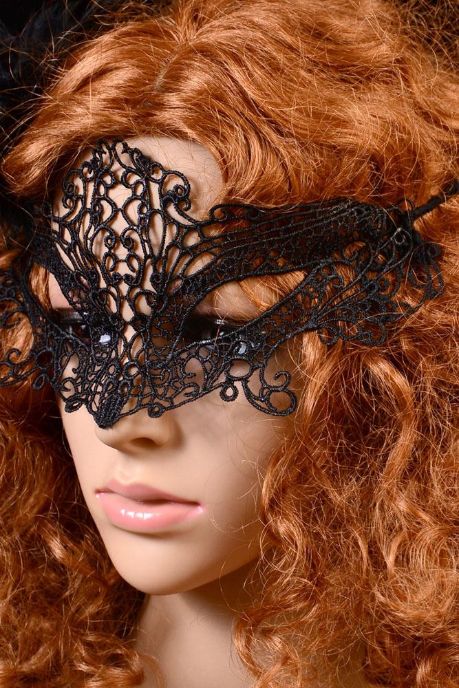 черная китайская маска от черных точек