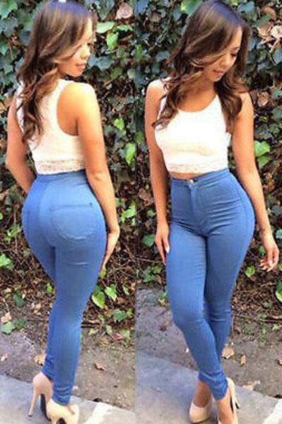 Голубые джинсы купить доставка
