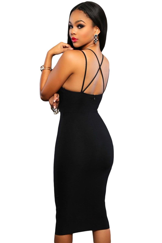 Купить Черное Трикотажное Платье