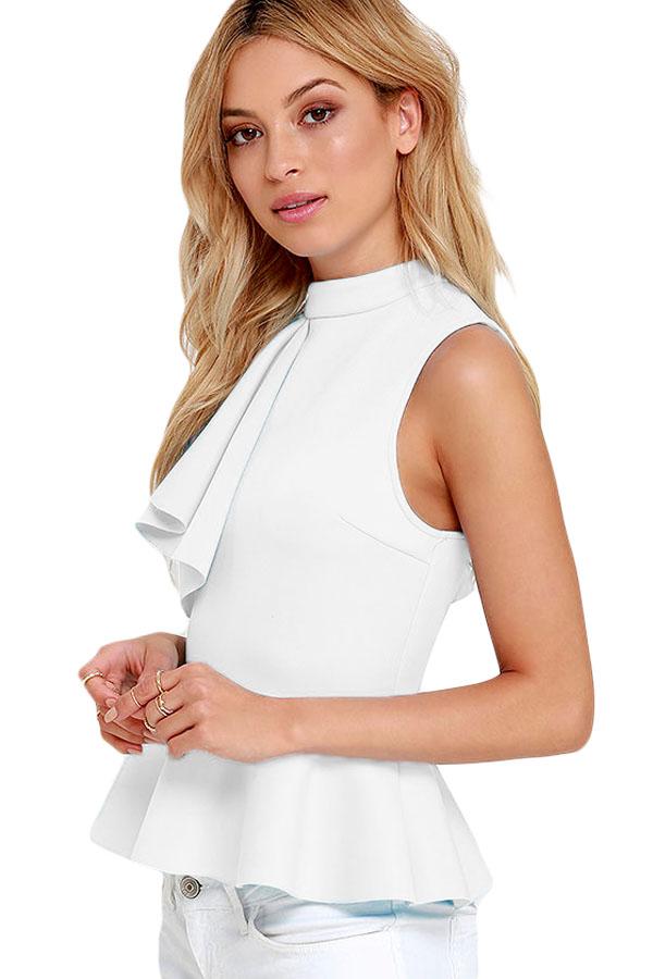 Белые Офисные Блузки Купить