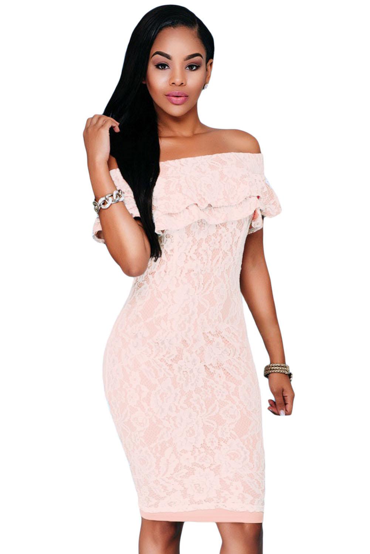 Розовое гипюровое  купить