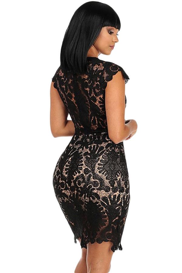 неприхотливые вечерние платья черные с кружевом фото ходу