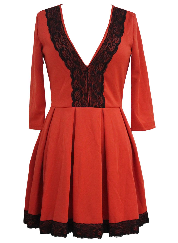 Купить платье с пышной кружевной юбкой