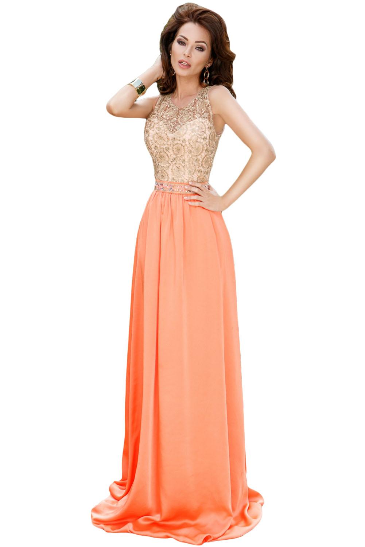 Платье оранжевое купить в москве