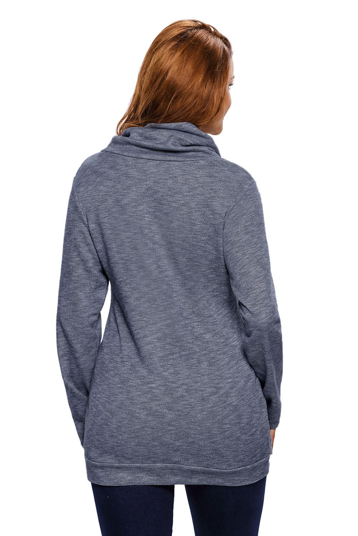 Меланжевый пуловер с доставкой