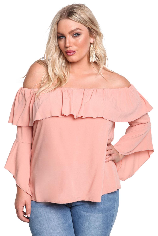 Блузка Со Спущенным Рукавом Купить