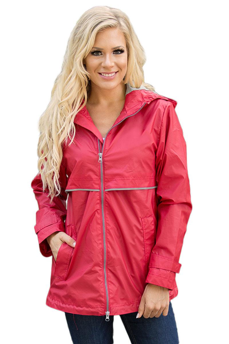 Красная спортивная куртка с капюшоном и светоотражающими элементами ... a871d2a5290
