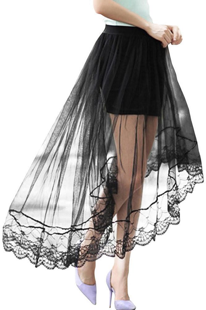 Платье Сетка Пышное