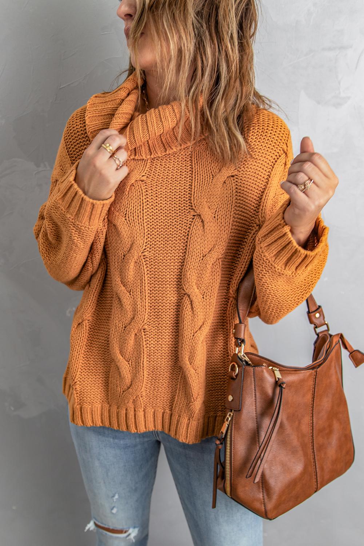 объемный свитер крупной вязки фото гипс начали