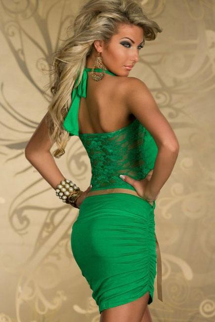Аксессуары под зеленое платье 185