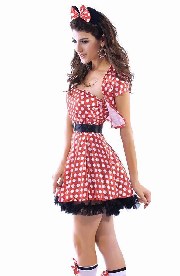 Красно белые платья доставка