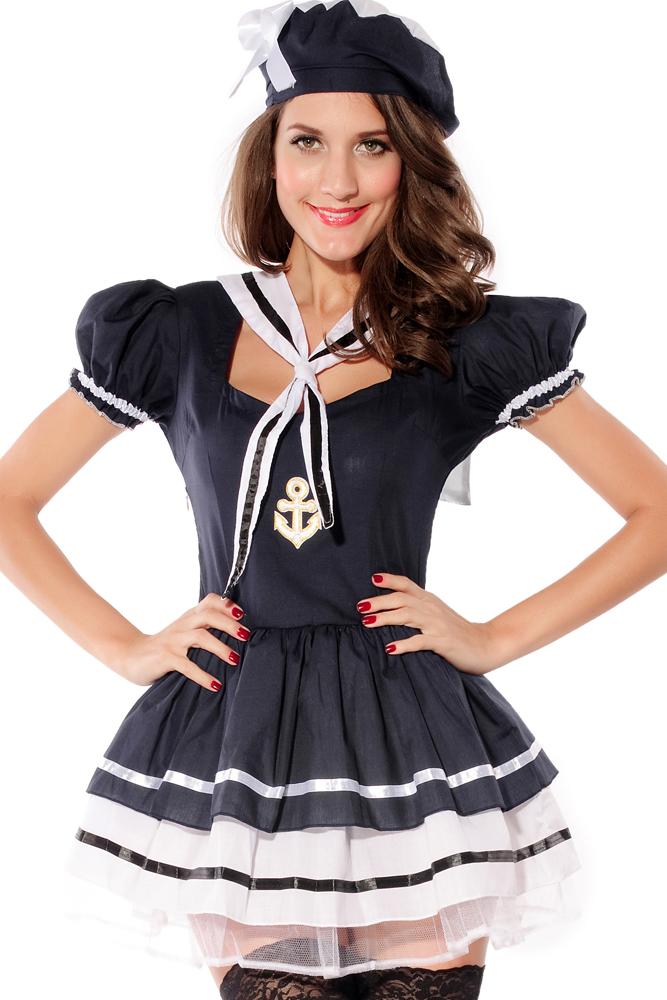 платье в стиле морячки фото чему