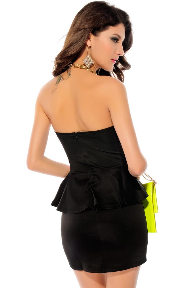 Сиренево черное платье