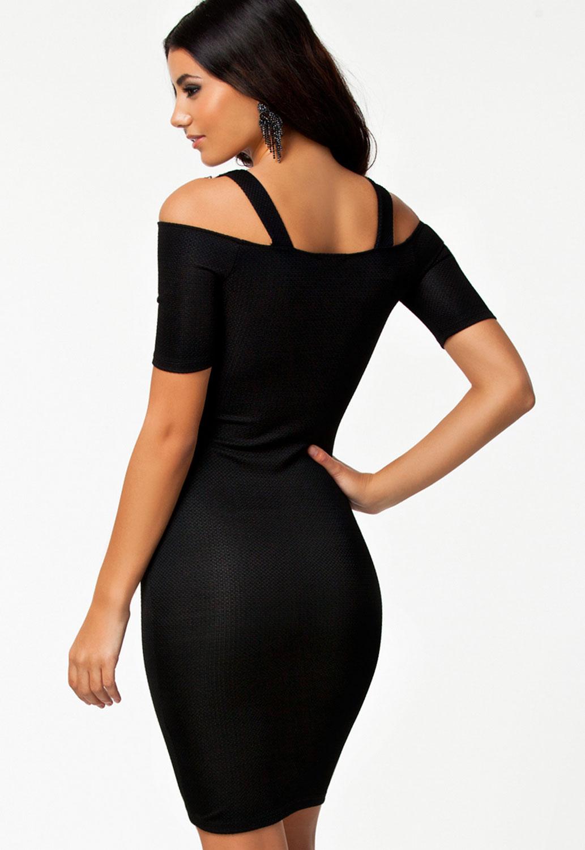 Обтягивающее Черное Платье Купить