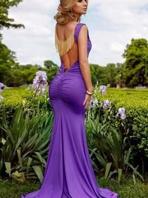 e7ab706f0c9 Купить сиреневое длинное в пол платье недорого наложенным платежом в  Интернет-магазине в Москве