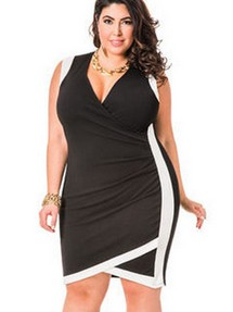 Коктейльные платья больших размеров
