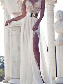 Купить вечернее платье в стиле ампир недорого наложенным платежом в ... c6f57da5458
