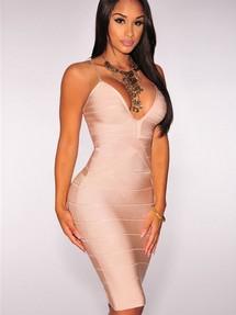 Бандажное платье недорого