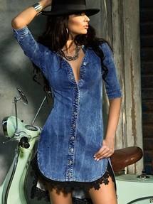 c76593dda Купить женская джинсовая одежда: наложенным платежом, недорого без ...