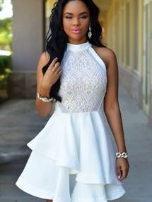 bb2769606b1 Купить коктейльное платье с пышной юбкой недорого наложенным ...