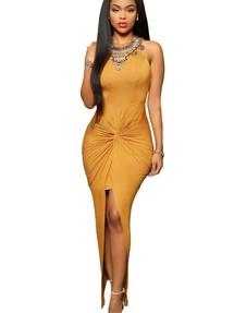 6ede06aefd7 Купить длинное макси обтягивающее платье недорого наложенным ...