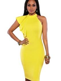 Желтое платье купить новосибирск