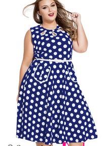 a54bc239563 Купить деловое офисное платье в горошек недорого наложенным платежом ...