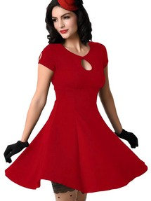 Платья с вырезом капелька фото