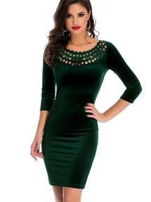 f9008322f86 Купить зеленое платье футляр недорого наложенным платежом в Интернет ...