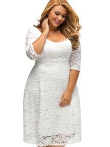 Купить платье а силуэта с круглым вырезом недорого наложенным ... 636d64548aa