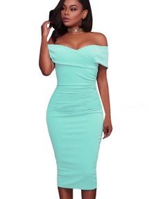 ab99fc8c9dc Купить голубое обтягивающее платье недорого наложенным платежом в ...