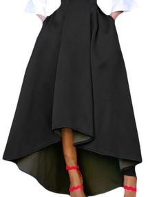 8246d7af466 Купить черная повседневная юбка недорого наложенным платежом в ...