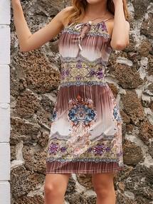d5c6bf83218d5b0 Купить платье с цветочным принтом недорого наложенным платежом в ...