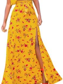 4ce02060e264 Купить длинная в пол нарядная вечерняя юбка недорого наложенным ...