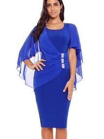 8709f826ba764fa Купить синее платье футляр недорого наложенным платежом в Интернет ...