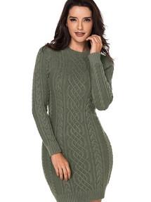 Купить вязаное платье водолазка недорого наложенным платежом в ... 93cb1625e93