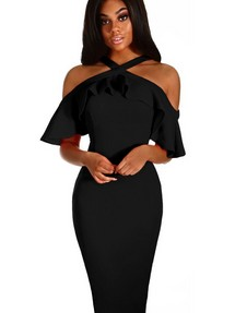 8816ca47edef1b7 Купить платье футляр на бретелях недорого наложенным платежом в ...