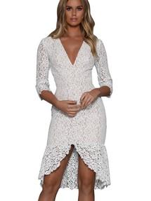 12f42db78a8 Купить кружевное платье футляр недорого в Волгограде наложенным ...