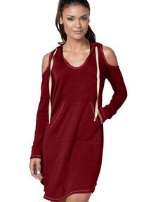 c5569555a6d Купить бордовое платье недорого наложенным платежом в Интернет ...