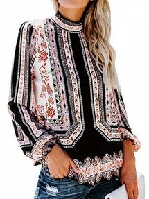 fa30ce096a2 Купить блузки с воротником стойка недорого наложенным платежом в ...